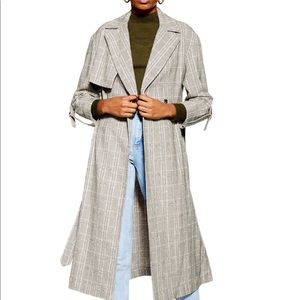 NWT Topshop Trench Coat